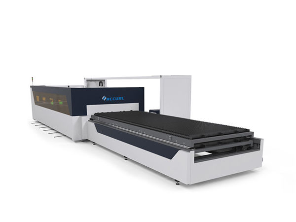 4mm carbon steel tube pipe sheet cnc fiber laser cutting machine with raytools