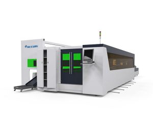 metal tube and plate fiber high speed laser cutting machine 1500w with rotary device