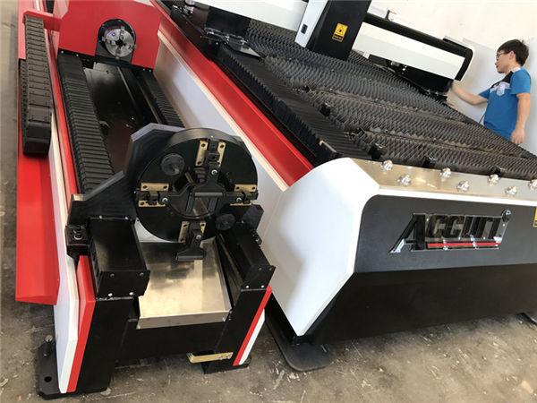 ss pipes 3d laser cutting machine / 3 axis fiber sheet metal cutter