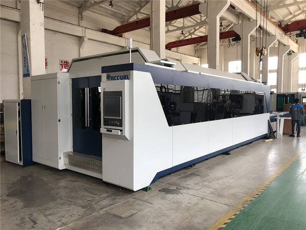 professional cnc fiber laser cutting machine 1000w 1500w with exchange table