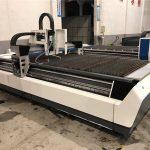 mechanical cnc fiber laser cutting machine with ball screws transmission