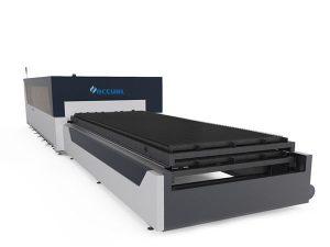 plate / tube metal fiber laser cutting machine 1000 watt usa lasermech cutting head