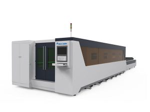 metal processing industrial laser cutting machine full covered type 1000w