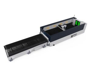 high precision metal fiber laser cutting machine 500w raycools cutting head