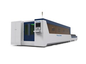 stable fiber laser cutting equipment , steel plate laser cutting machine high performance