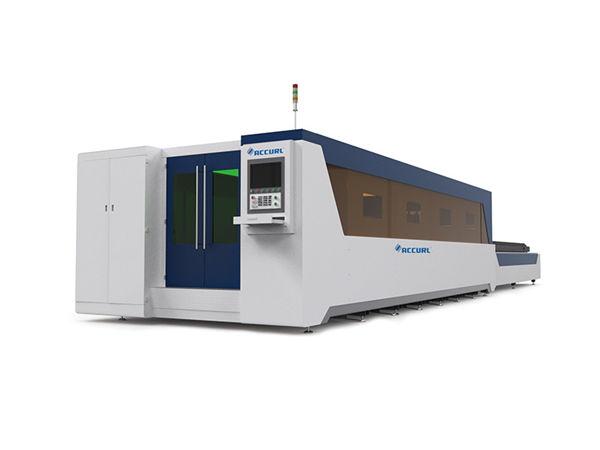 fiber laser cutting machine 500-6000W with high acceleration upto 2.5g