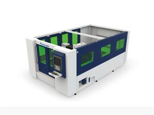 mini 500w fiber laser cutting machine for enclosed tube and sheet