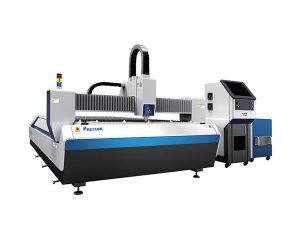 open type fiber laser metal cutting machine , cnc laser engraving cutting machine