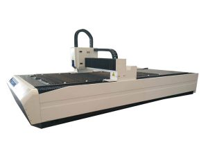 welded frame laser beam cutting machine high output power with dust removal system