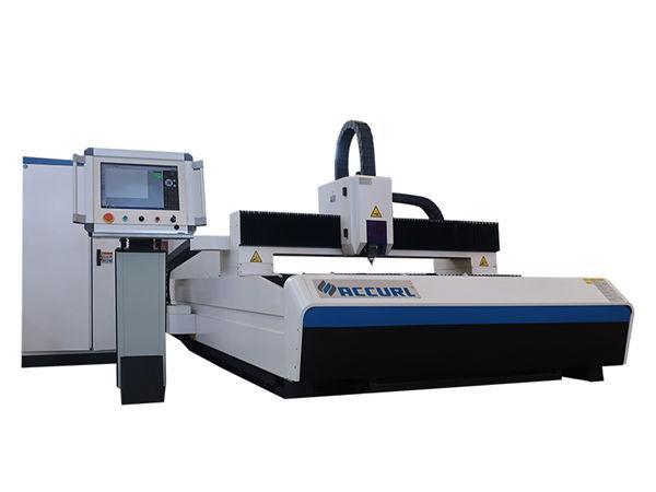 carbon steel plate laser cutting cnc machine , fiber laser cutting equipment