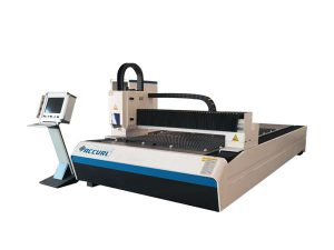 industrial 1500w metal fiber laser cutting machine small laser beam compact size