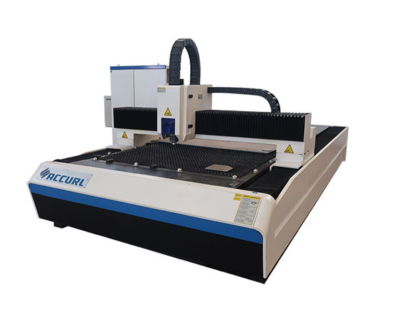 2000w fiber laser cutting machine used in mild steel plate / iron plate