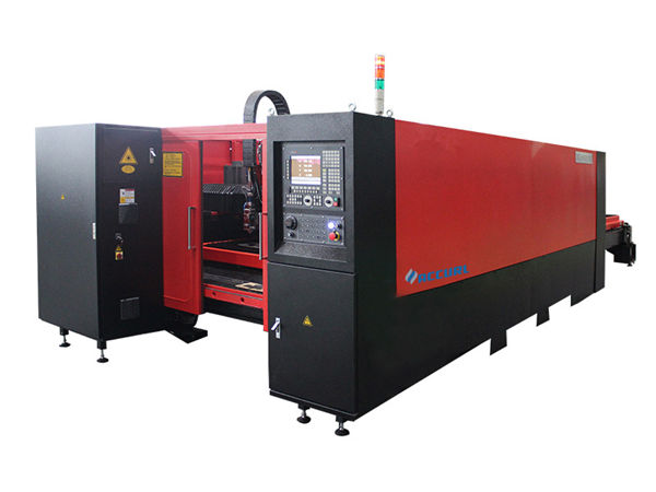 1000w industrial laser cutting machine low noise high accuracy for carbon steel cutting