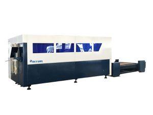 single platform cnc fiber laser cutting machine , metal sheet cutter