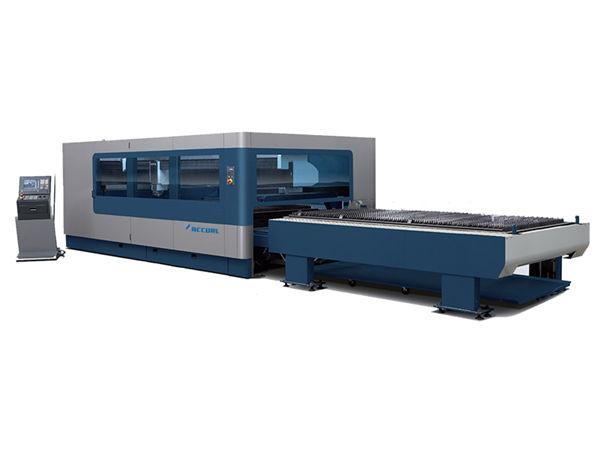 cnc metal industrial laser cutting machine 380v / 50hz 1kw 1.5kw laser source