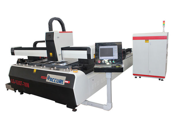 alloy steel plate cnc fiber laser cutting machine double drive high efficiency