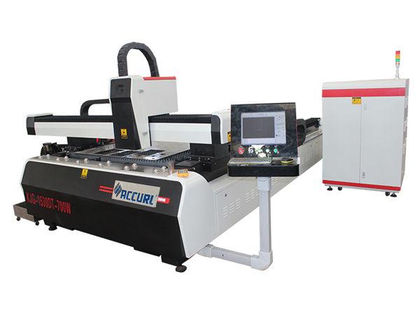 1000w 1500w laser metal cutting machine for mild steel , 45m/min cutting speed