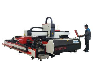 fiber laser metal cutting machine 500w 800w 1kw 800mm/s operating speed