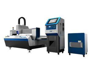 dual drive fiber laser tube cutting machine high cutting speed for industry processing