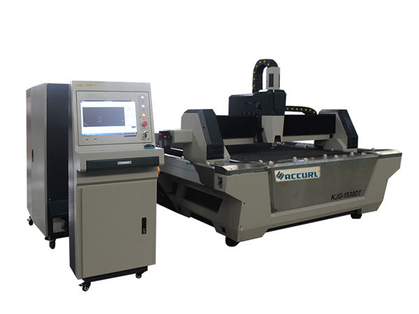 800w fiber laser tube cutting machine high precision with fixed working table