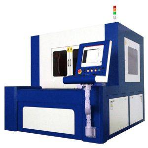 380v 50 / 60hz fiber laser cutting machine for high precise metal parts