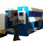 2kw fiber optic laser cutting machine adjustable speed for metal tube